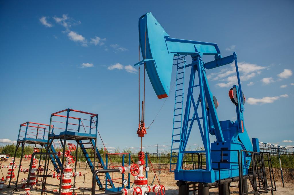 Добывающие нефтяные скважины